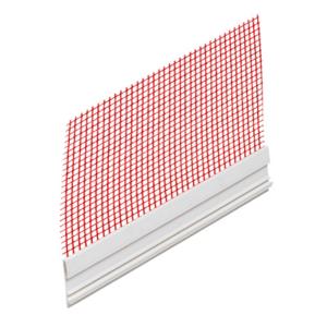 PRIBOR - Dilaatacijski PVC profil ravni