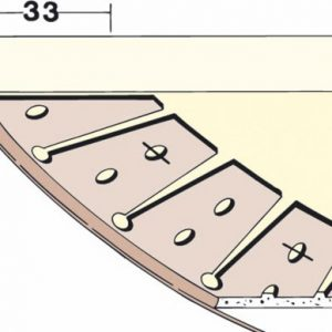 PVC zavšrni profil